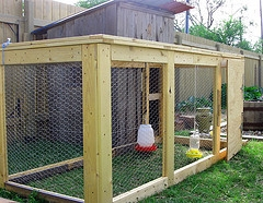 portable chicken coop pen